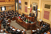 Virginia House of Delegates Chamber